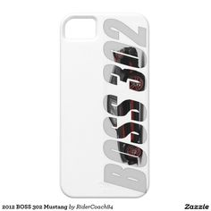 2012 BOSS 302 Mustang iPhone SE/5/5s Case
