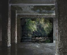 """Noémie Goudal """"Haven Her Body Was"""" Exhibition @ Edel Assanti: Unlike civilizations throughout history that have erected buildings and artificial shelters in Masterpiece Theater, Photography Themes, Saatchi Gallery, Nature Images, Installation Art, Art Installations, Artist At Work, New Art, Places"""