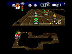 SNES' 2nd best game ever.  Endless hours of fun, especially when played with others. Super #Mario Kart #gaming