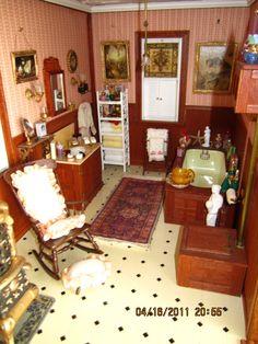 My Victorian Dollhouse - Bathroom