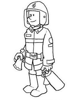 fireman coloring pages free printable enjoy coloring projects