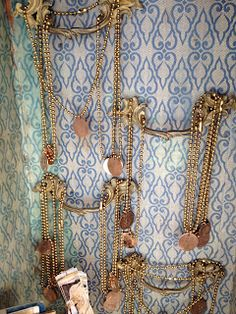 ❥ hardware jewelry display