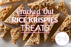 cracked out rice krispie treats