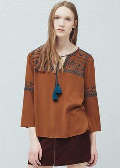 Shirts - Sale - Woman   MANGO Mongolia