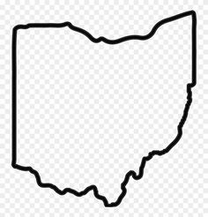 Find Hd Ohio Outline Png Ohio State Outline Transparent Png To Search And Download More Free Transpar Ohio Outline State Outline Bullet Journal Inspiration