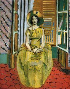 The Yellow Dress - Matisse Henri