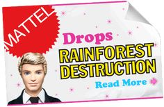 Success: Barbie and Mattel drop deforestation! | Greenpeace International