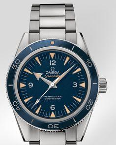 OMEGA Watches: Seamaster Seamaster 300 Omega Master Co-Axial 41 mm - Titanium on titanium - 233.90.41.21.03.001