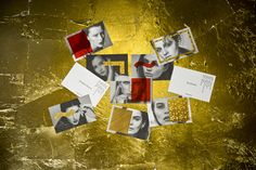 Brand identity and model cards by Bibliothèque for UK model agency Linden Staub