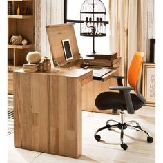 8 of the best desks for your home office - The Interiors Addict Modern Wood Desk, Modern Wood Furniture, Furniture Design, Study Office, Office Desk, Home Office, Office Inspo, Best Desk, Corner Desk