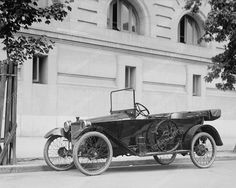 Automobile 1917 Vintage 8x10 Reprint Of Old Photo