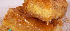 TYLIXTO-GALAKTOMPOYREKO-5-1-860x380 Greek Desserts, Baked Potato, Baking, Ethnic Recipes, Cooking Stuff, Food, Greece, Greece Country, Bakken
