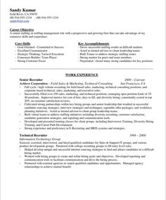 18 best Business Resume Samples images on Pinterest | Free resume ...