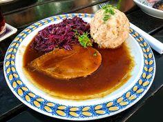 Porýnská svíčková s rozinkami German Sauerbraten Recipe, Spaetzle Recipe, Recipe Link, Hummus, How To Memorize Things, German Recipes, Make It Yourself, Dinner, Breakfast