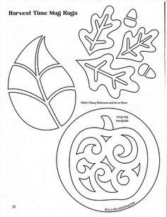 Art to Heart - mug rug applique patterns