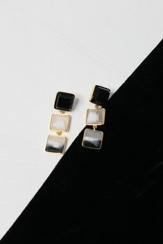 Celebrating the geometric shapes of faceted forms. These simple drop earrings can be worn classically or layered with other studs on each side. Dora Maar, Aquamarine Gemstone, We Wear, Resin Jewelry, Colored Glass, Geometric Shapes, Wearable Art, Glass Beads, Studs