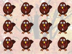 Turkey rhythm game: adapted for 1st, 2nd, 3rd, 4th and 5th grades with downloadable powerpoints