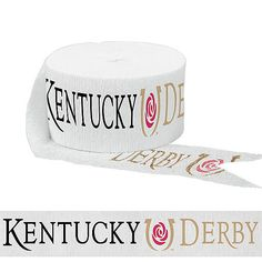 Kick off the Triple Crown with Kentucky Derby Party Supplies, offering tableware, race horse decorations, party favors, and more. Kentuky Derby, Derby Party, Horse Party Supplies, Run For The Roses, Get The Party Started, Party Stores, Crepe Paper, Streamers, Fundraising
