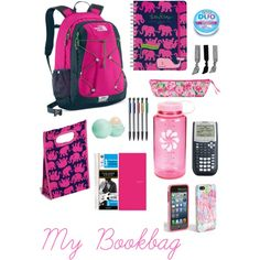 i wont need the caclutor because i have one on my phone but will need everything else but a more stylish book bag(vera bradly tutti-fruitti double-zip)