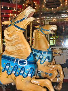 The 1914 Stein & Goldstein Carousel at Bushnell Park in Hartford, CT. Stein & Goldstein Horses....