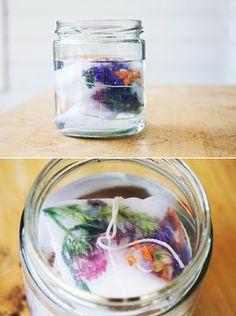 DIY: fresh floral fabric dye   #fabric_dying_fresh_flowers #sun_fresh_flower #how_to_dye_with_flowers