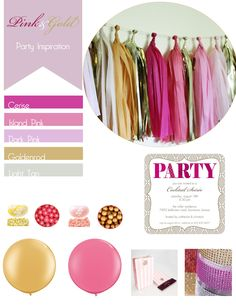 Pink and Gold Party- theme??
