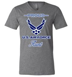 USAF Aunt Sweatshirt Air Force Aunt Shirt Keep Calm I am The Aunt of an Airman Grey USAF Aunt Hoodie