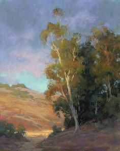Just a Glimpse by Kim Lordier Pastel ~ 20 x 16