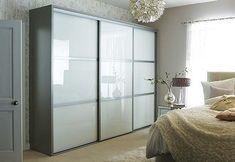 Sliding wardrobe doors glass style4