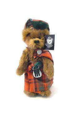'Angus' the Highland Bear by Scotweb Tartan Mill