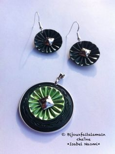 DIY Nespresso: How to make a sushine jewelry set
