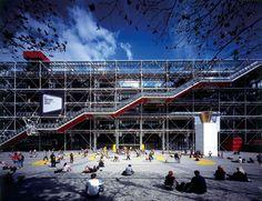 Cultural Center George Pompidou - Renzo Piano