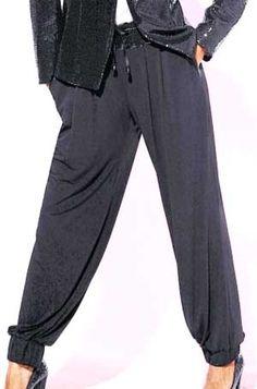 Как сшить брюки на резинке своими руками пошагово 943