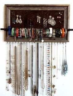 10x20 Custom Jewelry Organizer. $65.00, via Etsy.