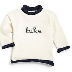 mjk knits personalized hand knit cashmere infant sweater set - Google Search