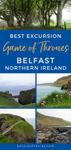 Are you a Game of Thrones fan? Are you visiting Belfast, Northern Ireland on a cruise vacation or other travel? If so, you don't want to miss this tour. Not only do you get to see filming locations for the hit HBO series, but you also get to see the beautiful countryside. We think this is one of the best things to do while visiting, whether you are a GOT fan or not. Check out our post to see why and you'll be ready as soon as travel resumes. #GOT #Belfast #NorthernIreland #Excursions