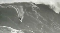 Monster ride: Surfer catches 'world's biggest wave' - via CNN, 30.01.2013 | He is but a dot in the ocean, gathering speed and rapidly rising as a mammoth wall of water expands below and behind him. Simultaneously fearsome and awesome, this may be the moment Hawaiian rider Garret McNamara on Monday broke his own record for the largest wave ever surfed. Caught off the coast of the small fishing village of Nazaré, Portugal, the monster wave was reported to be more than 100 feet high, or 30.5…