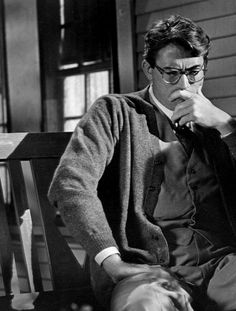Gregory Peck as Atticus Finch. This movie introduced me to Peck, but for the longest time whenever I say him in a movie I said 'It's Atticus!' Perhaps my number one reason for loving this movie is that it forced my classmates to watch something in black and white, not that many appreciated it :P