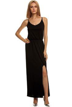 Newdress  V-Neck Backless Split Sexy Long Dress