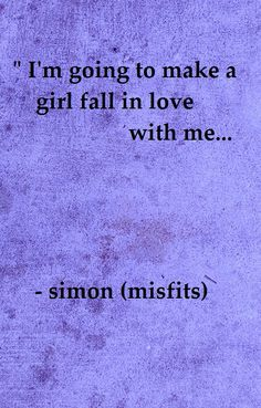 Wish I was that girl... Love you Simon<3