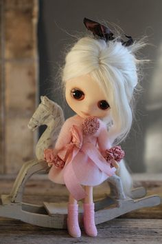 For Lati Yellow/Pukifee/Middie Blythe Pale Pink by TaylorCouture, $30.00