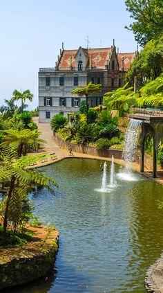 Monte Tropical Gardens, Funchal, Madeira, Portugal
