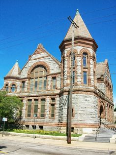 Hackley Library, Muskegon, Michigan © copyright Mike Kraus