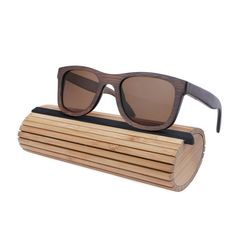 f0c9bfe69ec 2016 Trends Bamboo Wooden Sunglasses With Polarized Lens