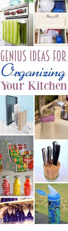 DIY Home Sweet Home: ideas geniales para organizar tu cocina