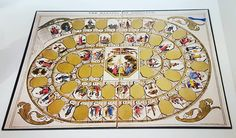 Game of the Week: The Mansion of Happines, an Instructive, Moral & Entertaining Amusement. 1843. I wonder who knows how to play. #retrogames #boardgames #gameoftheweek #games