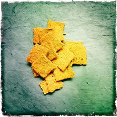 Raw Carrot Crackers