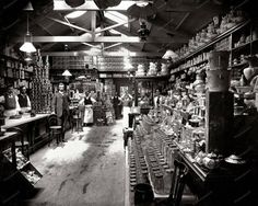 Grocery Store 1890 Vintage 8x10 Reprint Of Old Photo Grocery Store 1890 Vintage…