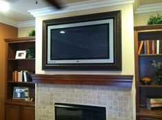 love this framed TV