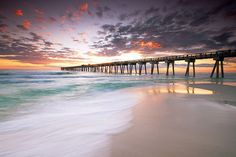 Panama City Beach Pier,Florida